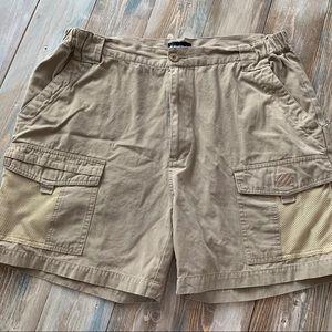 West Marine Mooring shorts tan size large